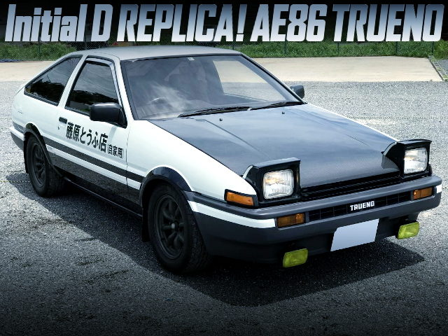 INITIAL-D REPLICA OF AE86 SPRINTER TRUENO 3DR