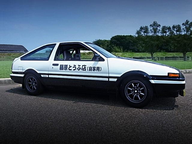 SIDE EXTERIOR AE86 TRUENO