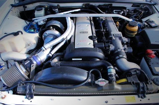 GREDDY T67-25G TURBO WITH 1JZ-GTE ENGINE