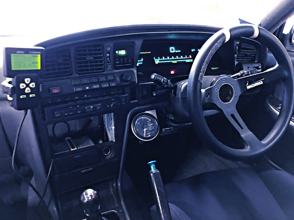 STEERING AND MANUAL SHIFT OF JZX81