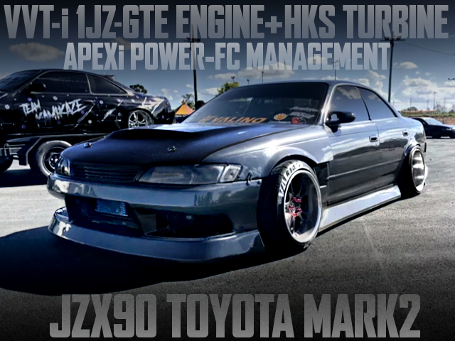 VVTi 1JZ TURBO ENG SWAPPED JZX90 MARK2