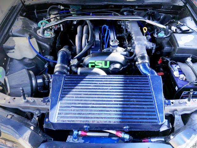 VVT-i 1JZ-GTE TURBO ENGINE ON V-MOUNT IC