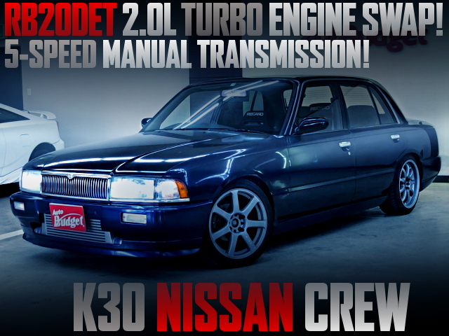 RB20DET TURBO ENGINE AND 5MT SWAPPED K30 NISSAN CREW