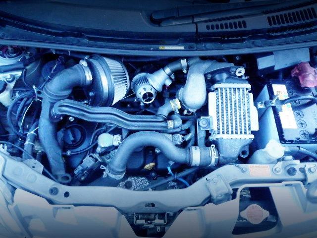 KF-DET 660cc TURBO ENGINE