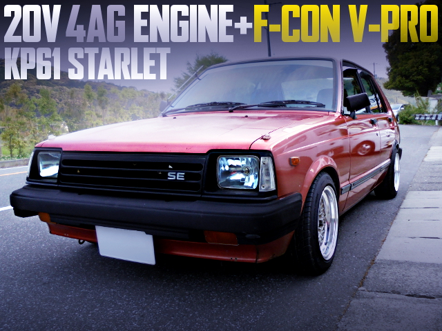 20V 4AG ENGINE SWAPPED KP61 STARLET