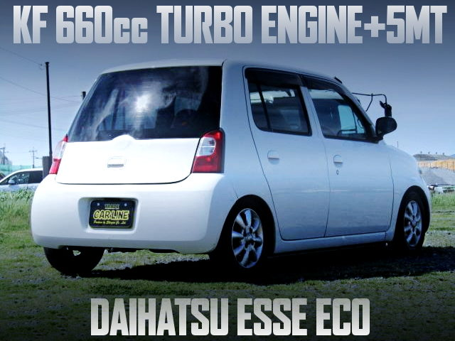 KF 660cc DOHC TURBO ENGINE SWAPPED L235S ESSE ECO