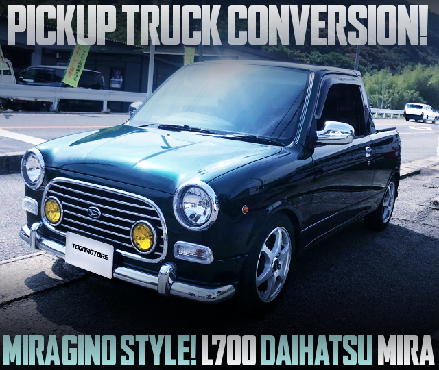 PICKUP TRUCK CONVERSION FOR L700 DAIHATSU MIRA