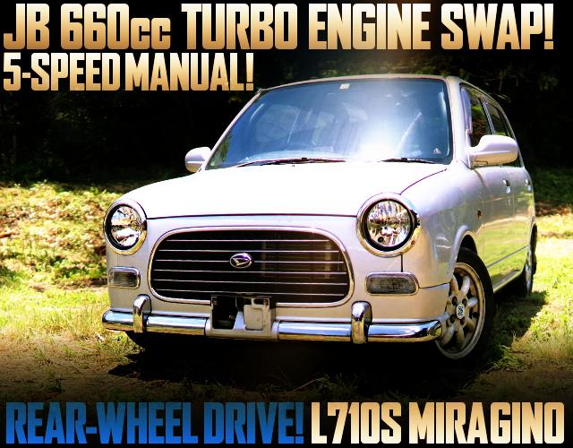 JB 660cc TURBO SWAP AND REAR WHEEL DRIVE CONVERSION L710S MIRAGINO