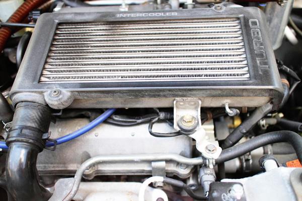 TOP-MOUNT INTERCOOLER FOR JB 660cc TURBO ENGINE