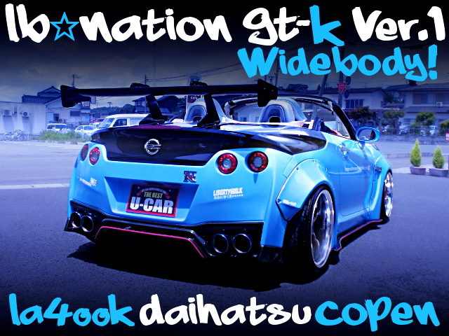 LB-NATION GTK WIDEBODY LA400K COPEN