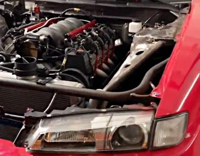 LS1 INTAKE WITH LQ9 V8 ENGINE