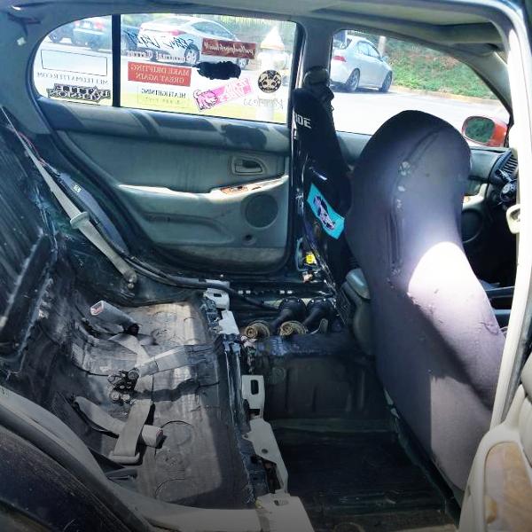 JZS147 LEXUS GS300 REAR SEAT DELETE