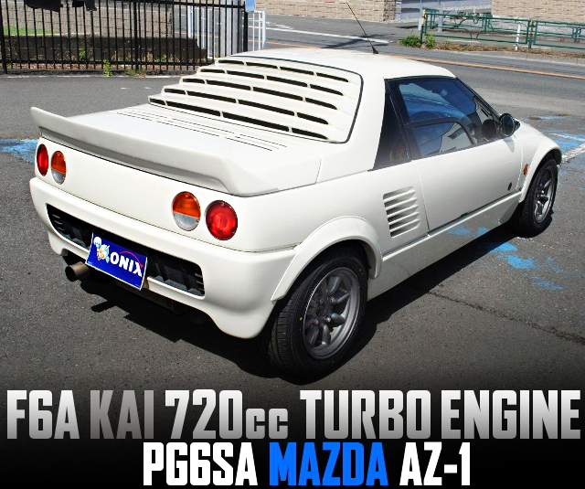 F6A 720cc TURBO ENGINE SWAPPED PG6SA MAZDA AZ-1