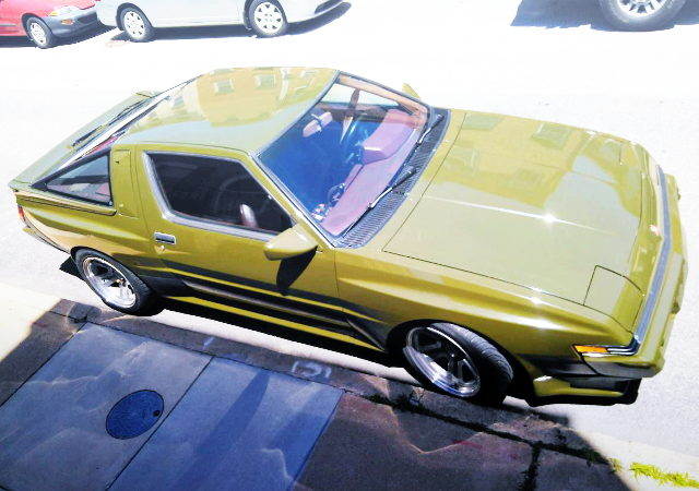 EXTERIOR OLIVE GREEN COLOR CHRYSLER CONQUEST