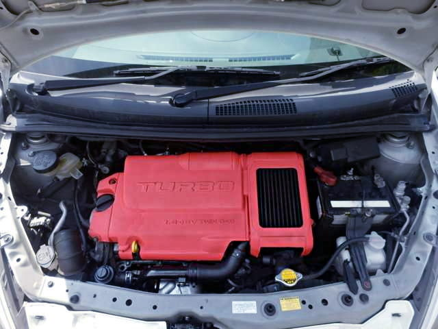 TURBOCHARGED K3-VE 1300cc ENGINE