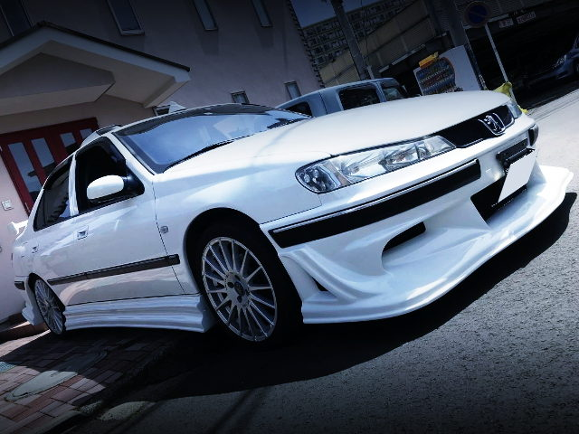 FRONT RIGHT SIDE PEUGEOT 406
