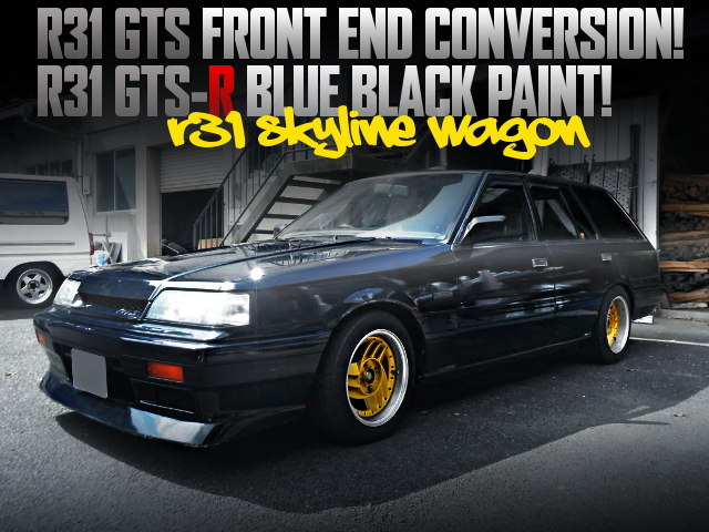 R31 GTS FRONT END R31 SKYLINE WAGON
