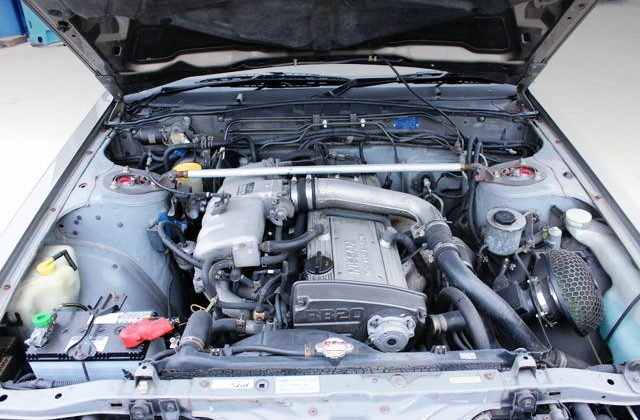 TUNED BY AUTECH RB20DET TURBO ENGINE