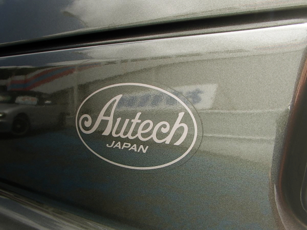 AUTECH JAPAN LOGO DECAL