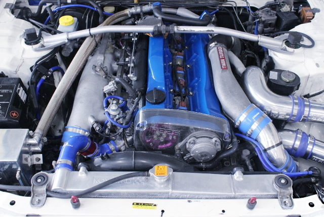 RB26 TWINTURBO ENGINE FOR R33 GT-R ENGINE ROOM