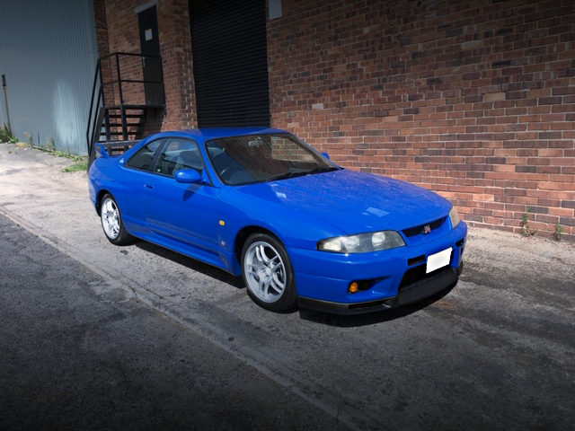 FRONT EXTERIOR R33 GT-R LM-LIMTED