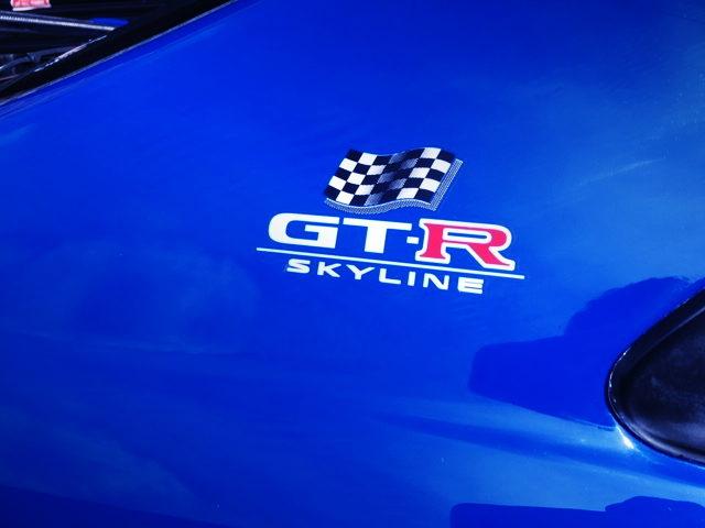 R33 GTR LM LIMITED LOGO