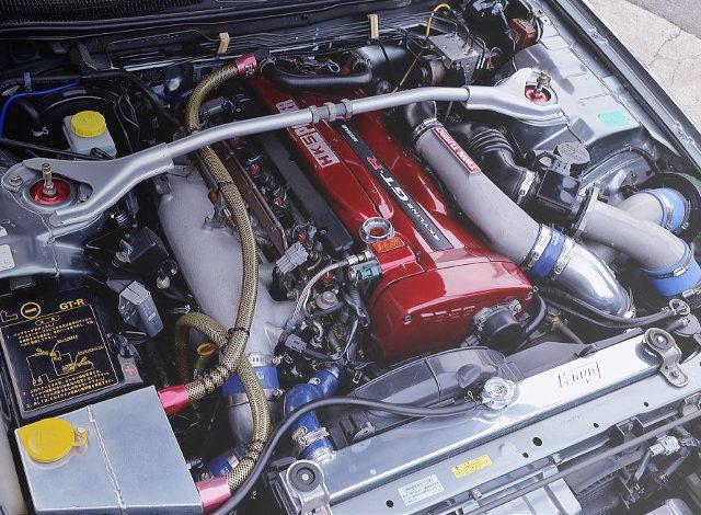 RB26 TWINTURBO ENGINE ON V-CAM
