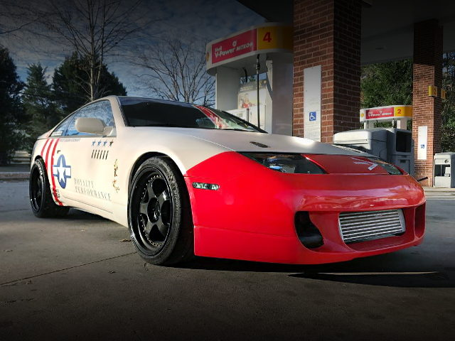 FRONT EXTERIOR Z32 300ZX RED BUMPER