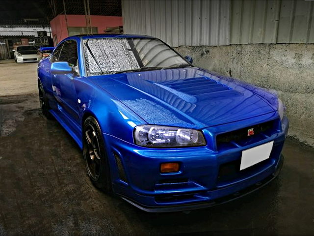 FRONT FACE R34 GT-R REPLICA FOR ROVER 220 COUPE