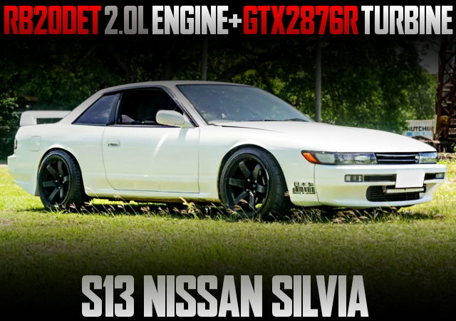 RB20DET TURBO ENG SWAPPED S13 SILVIA