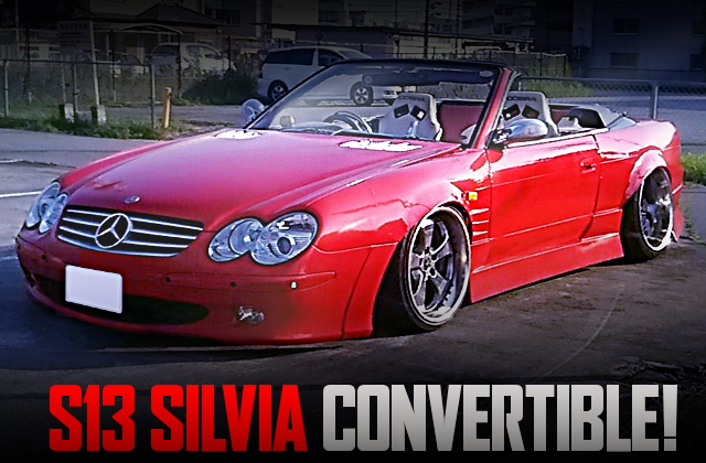 R230 BENZ FRONT END S13 SILVIA CONVERTIBLE