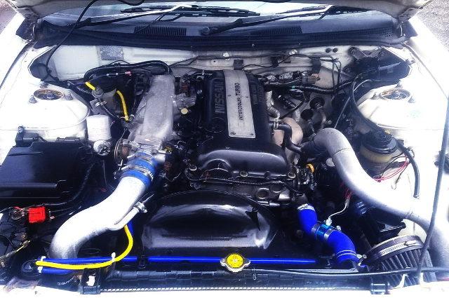 BLACK-TOP S14 SR20DET TURBO ENGINE