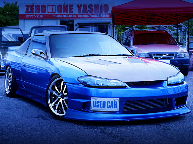 FRONT EXTERIOR S15 FRONT END 180SX TYPE-X