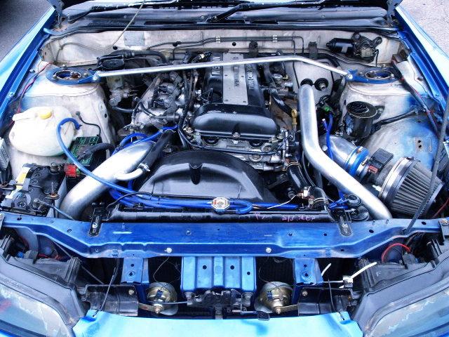 SR20DET TURBO ENGINE FOR 180SX ENGINE ROOM