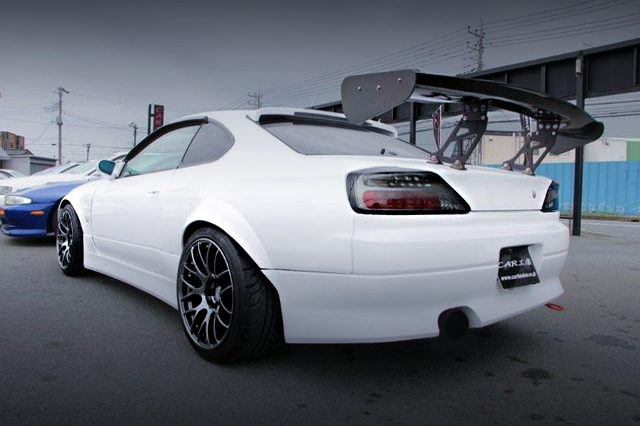 REAR EXTERIOR S15 SILVIA WIDEBODY
