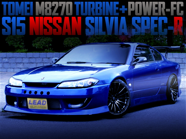 TOMEI M8270 TURBOCHARGED S15 SILVIA SPEC-R