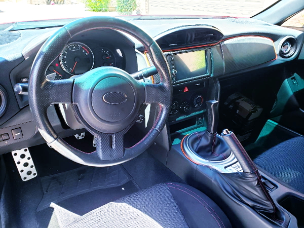 LEFT HAND DRIVE INTERIOR FOR SUBARU BRZ