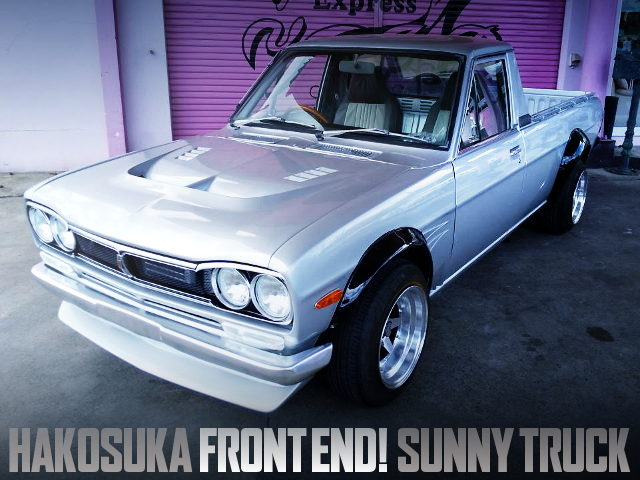 C10 HAKOSUKA FRONT END TO GB122 SUNNY TRUCK LONG