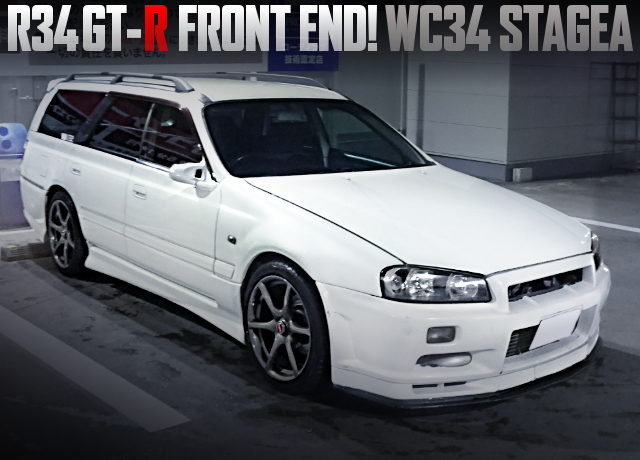 R34GTR FRONT END WC34 STAGEA