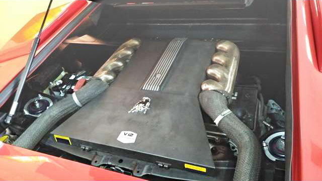 REPLICA V12 ENGINE COVER
