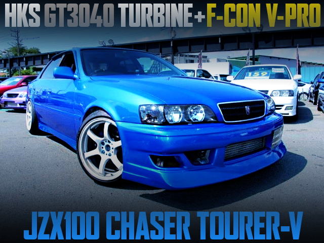 HKS GT3040 TURBOCHARGED JZX100 CHASER TOURER-V