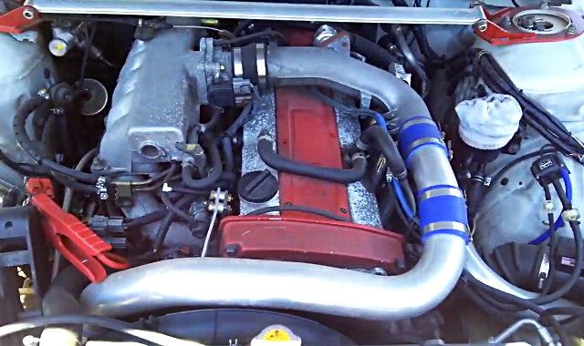 RB25DET TURBO ENGINE