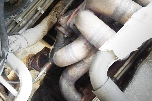 EXHAUST MANIFOLD FOR RB25DET