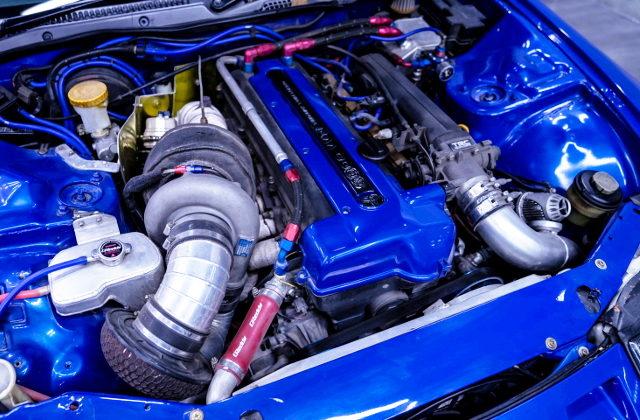 VVT-i 2JZ-GTE SINGLE TURBO ENGINE