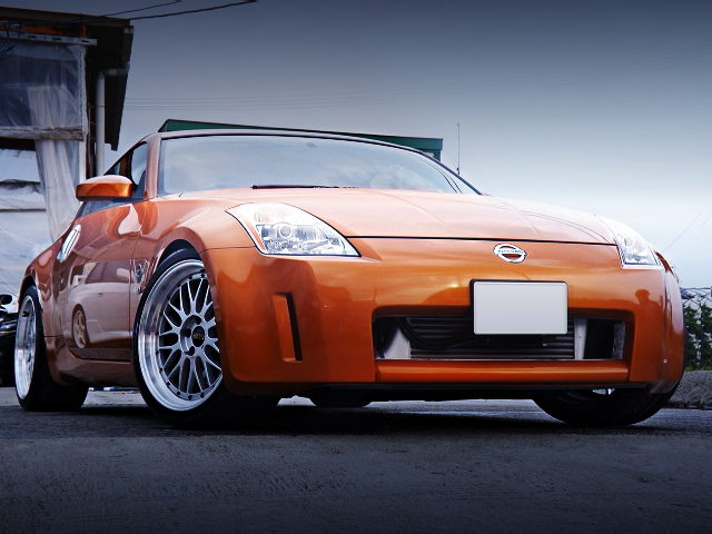 FRONT EXTERIOR Z33 FAIRLADY Z VERSION ST SUNSET ORANGE