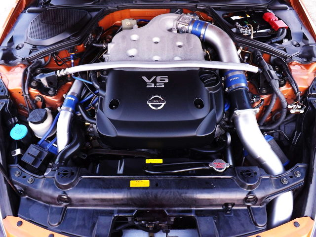TWIN TURBOCHARGED VQ35DE