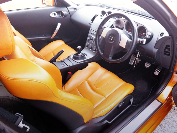 INTERIOR Z33 FAIRLADY Z VERSION ST