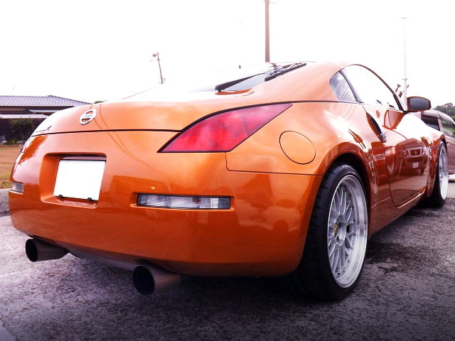 REAR EXTERIOR Z33 FAIRLADY Z VERSION ST
