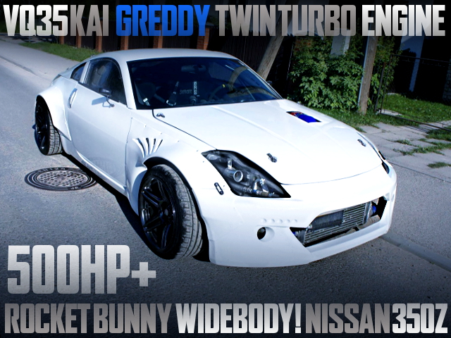 VQ35 TWINTURBO ENGINE Z33 350Z ROCKET BUNNY WIDEBODY