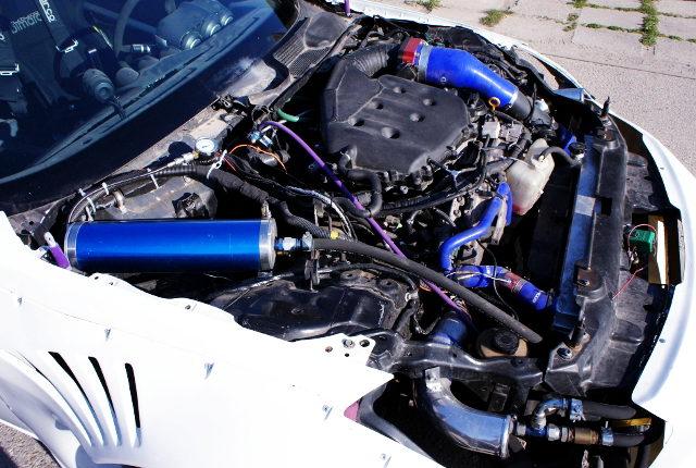 TWIN TURBOCHARGED VQ35DE V6 ENGINE